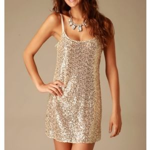 INTIMATELY FREE PEOPLE Sequin Dress Size S